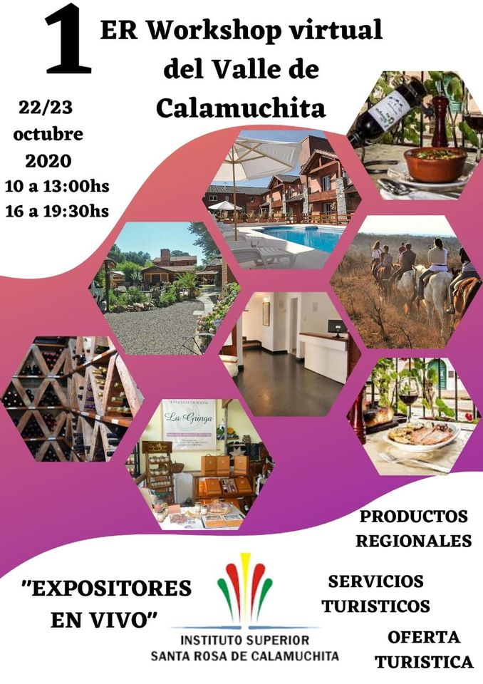 PRIMER WORKSHOP VIRTUAL DEL VALLE DE CALAMUCHITA
